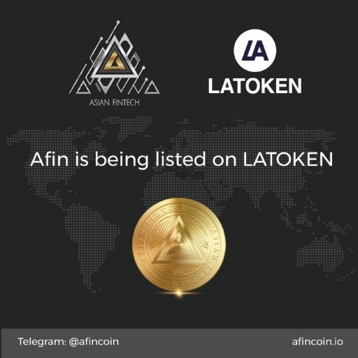 Afin Coin to Be Listed on LATOKEN Exchange