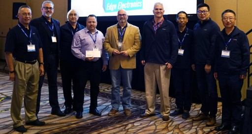 Edge Electronics Receives 2019 Tianma America Distributor of the Year Award