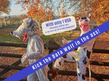 APOOS campaign: 'Kick the Data Wolf in the ass'