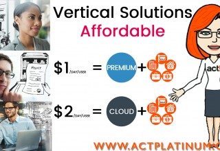 Affordable Act! CRM Vertical Solutions