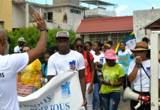 The Mauritius chapter of Youth for Human Rights