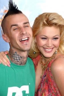 Shanna Moakler and Ex-Husband Travis Barker