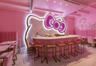 The Bow Room at Hello Kitty Grand Cafe