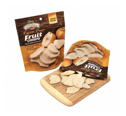 Brothers All Natural Launches Freeze Dried 1oz Asian Pears