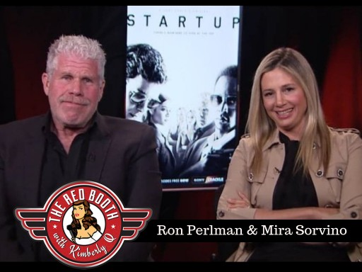 Join Ron Perlman and Mira Sorvino in THE RED BOOTH This Holiday Weekend!