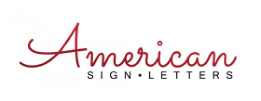 American Sign Letters Has Expanded Their Brand to Include New Custom Signs