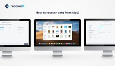 Recoverit data recovery for Mac
