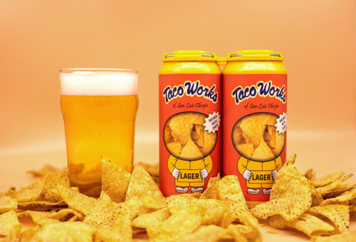 The World's First Tortilla Chip Beer - Just in Time for Game Day