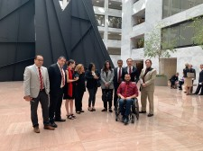 Delegates from AASCP visiting Capitol Hill