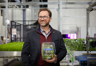 Mike Zelkind, CEO of 80 Acres Farms