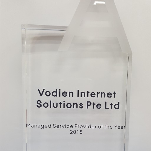 Vodien Wins the Prestigious Managed Service Provider of the Year Award From Acronis