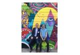 CrowdRiff CEO Dan Holowack and customer Cody Chomiak