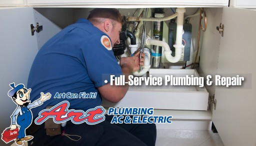 Need a Plumber in Jacksonville? - Art Can Fix It!