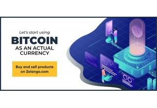Zolango allows users to both buy and sell their products using Bitcoin.