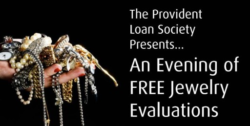 "The Nation's Only Not-for-Profit Lender, the Provident Loan Society Releases Date for ""Free Verbal Jewelry Evaluation"" Event"
