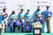 2020 U.S. Open Women's Polo Championship® Champions: Hawaii Polo Life - Dolores Onetto, Pamela Flana