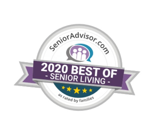 2020 Best of Senior Living Award Presented to Cardinal Court Alzheimer's Special Care Center
