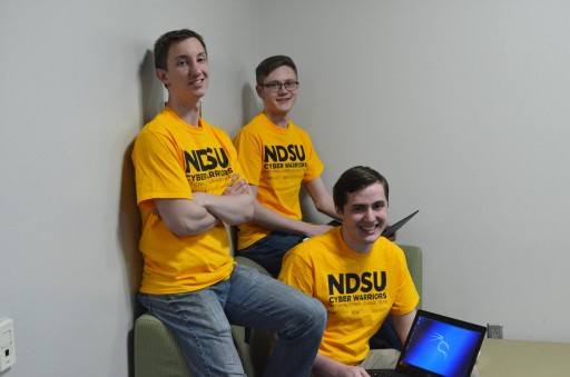 NDSU Students Take Top Cybersecurity Honors, Nationally