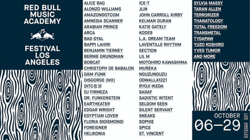 Red Bull Music Academy Festival Los Angeles 2017