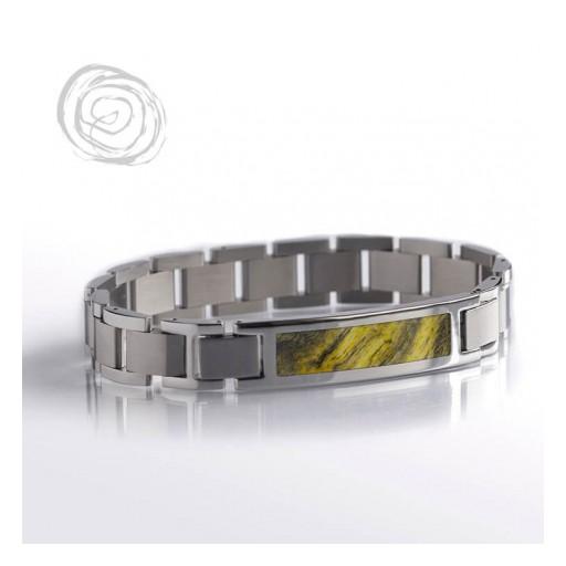 Buckeye Burl Wood Interchangeable Bracelet