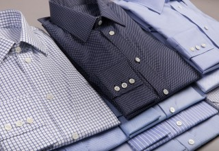 New custom shirts for fathers and sons now available at Gatsby's.