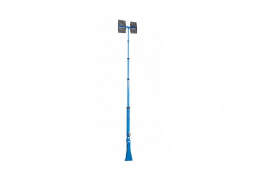 Larson Electronics LLC Releases 2000W Fold Over LED Light Mast With Electric Winch