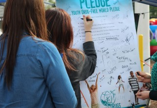 Families pledged