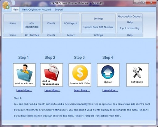 EzAch Software Adds Peace of Mind With Updated Quick Start Guide for Direct Deposits