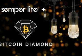 Semperlite Logo with Bitcoin Diamond