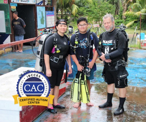First Dive Shop in Asia to Earn the Certified Autism Center Designation