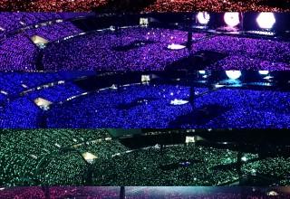 Xylobands Intelligent LED Bracelets Light Up Audiences on Coldplays Tours