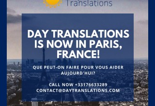 Day Translations Paris France Office Details
