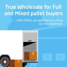 True wholesale for full and mixed pallet quantity buyers