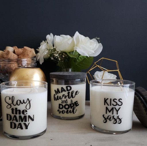 Two Wicked Company Releases the Simple Attitudes Stated With Style (S.A.S.S.) Collection of Candles