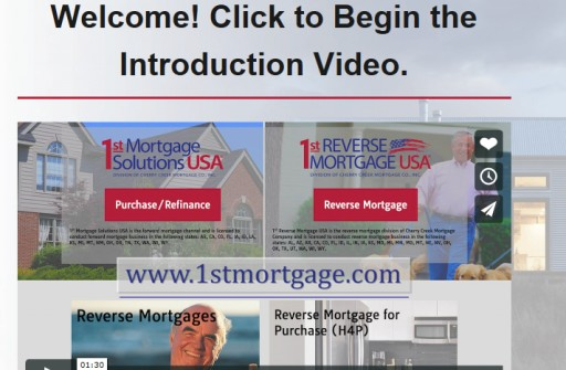 1st Reverse Mortgage USA Unveils New Website Design and Brand to Empower Customers, Partners