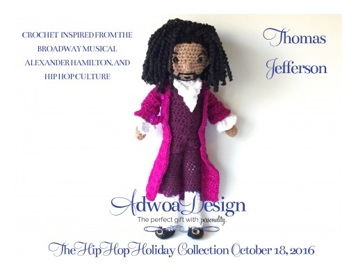 Adwoa Design Launches the Hip Hop Holiday Collection of Amigurumi Dolls