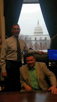 Congressman LoBiondo and Trump Coordinator Brian McDowell
