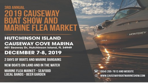 3rd Annual Causeway Boat Show and Marine Flea Market