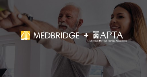 American Physical Therapy Association (APTA) Adds MedBridge  to Its Member Value Program