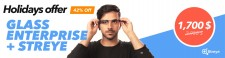 HOLIDAYS OFFER: GOOGLE GLASS ENTERPRISE + STREYE SUITE