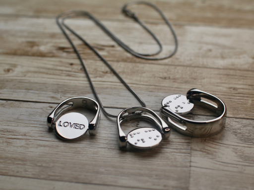 CONQUERing Celebrates World Sight Day With Launch of Braille Jewelry