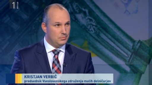 Kristjan Verbic television interview