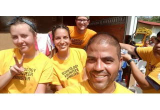 A team of Scientology Volunteer Ministers in Puerto Rico