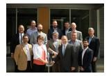 HARC leadership celebrate building dedication with building partners