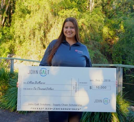 John Galt Announces Their Bi-Annual Scholarship Recipient: Lillian DeMarco