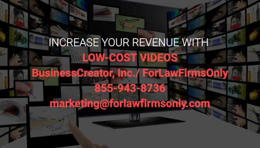 Edward Kundahl, President of BusinessCreator and ForLawFirmsOnly, Announces the Launch of a New Low-Cost Video Creation Service