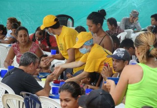 Some 1.1 million Venezuelans have sought refuge in Colombia.