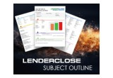 LenderClose Subject Outline