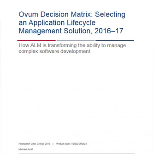 codeBeamer ALM Recognized in Ovum White Paper on Agile+DevOps in Safety-Critical Development