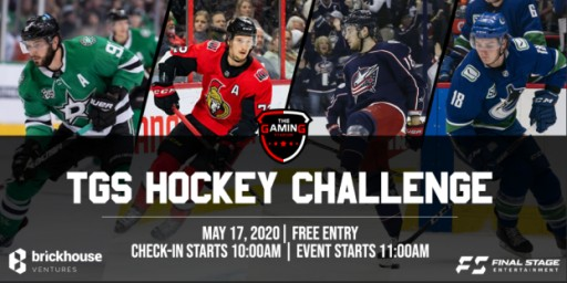 The Gaming Stadium's First Online Hockey Challenge, Featuring Tyler Seguin, Thomas Chabot, Pierre Luc-Dubois, and Jake Virtanen, Gives Fans a Chance to Play Against a Pro Hockey Player - for Free